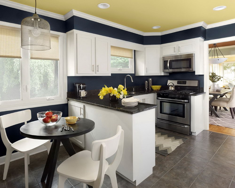 Kitchen Paint Colours With White Cabinets