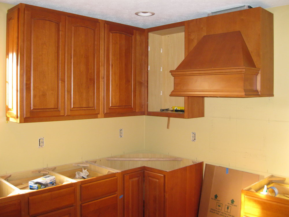Kitchen Wall Cabinet Design