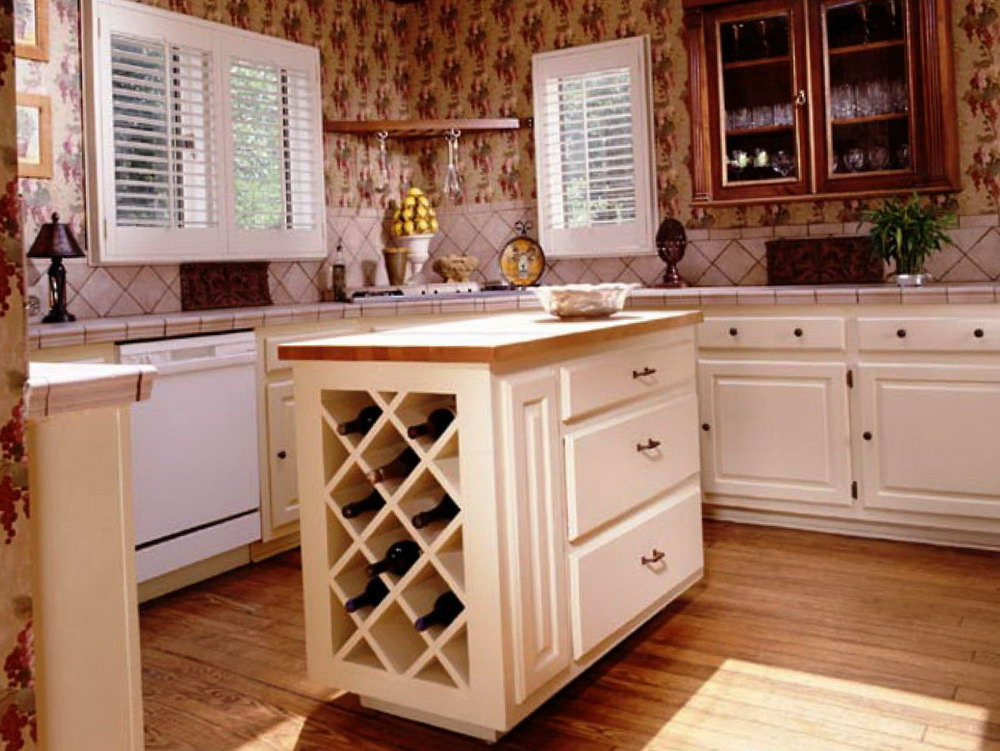 Kitchen Wine Cabinets Ideas
