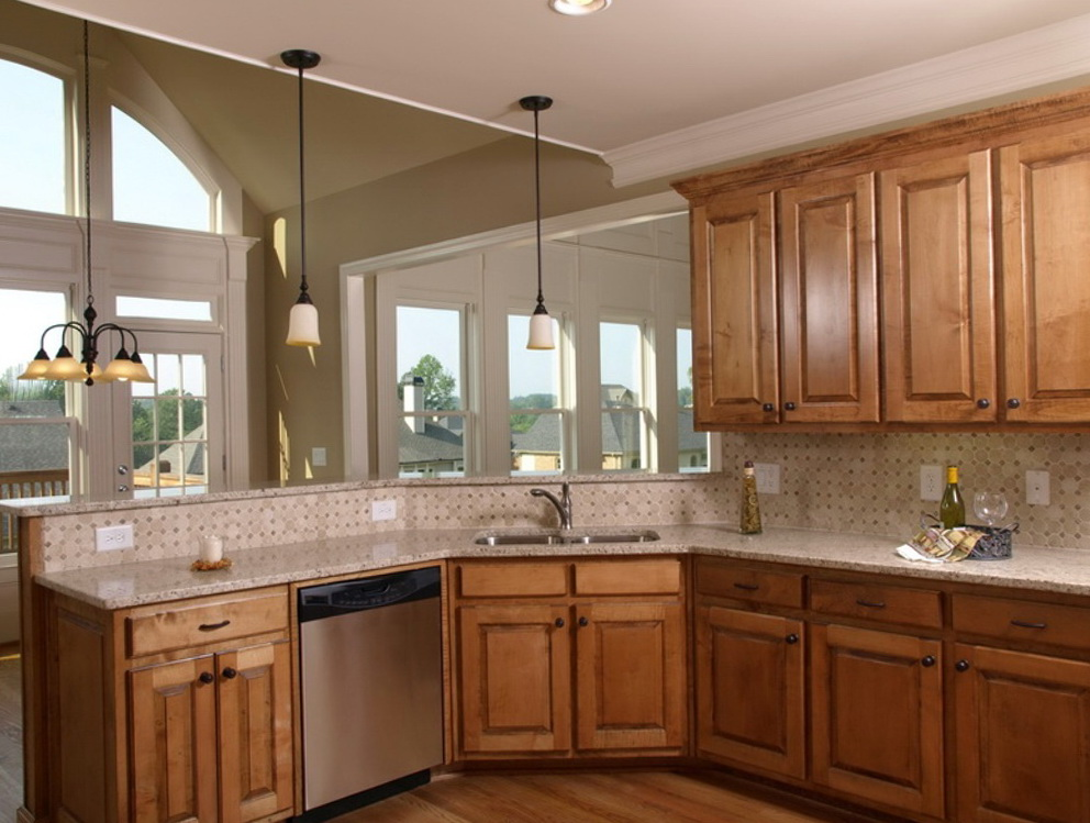 Kitchens With Maple Cabinets Paint Colors