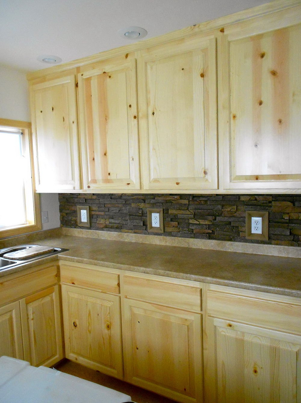 Knotty Pine Kitchen Cabinets For Sale