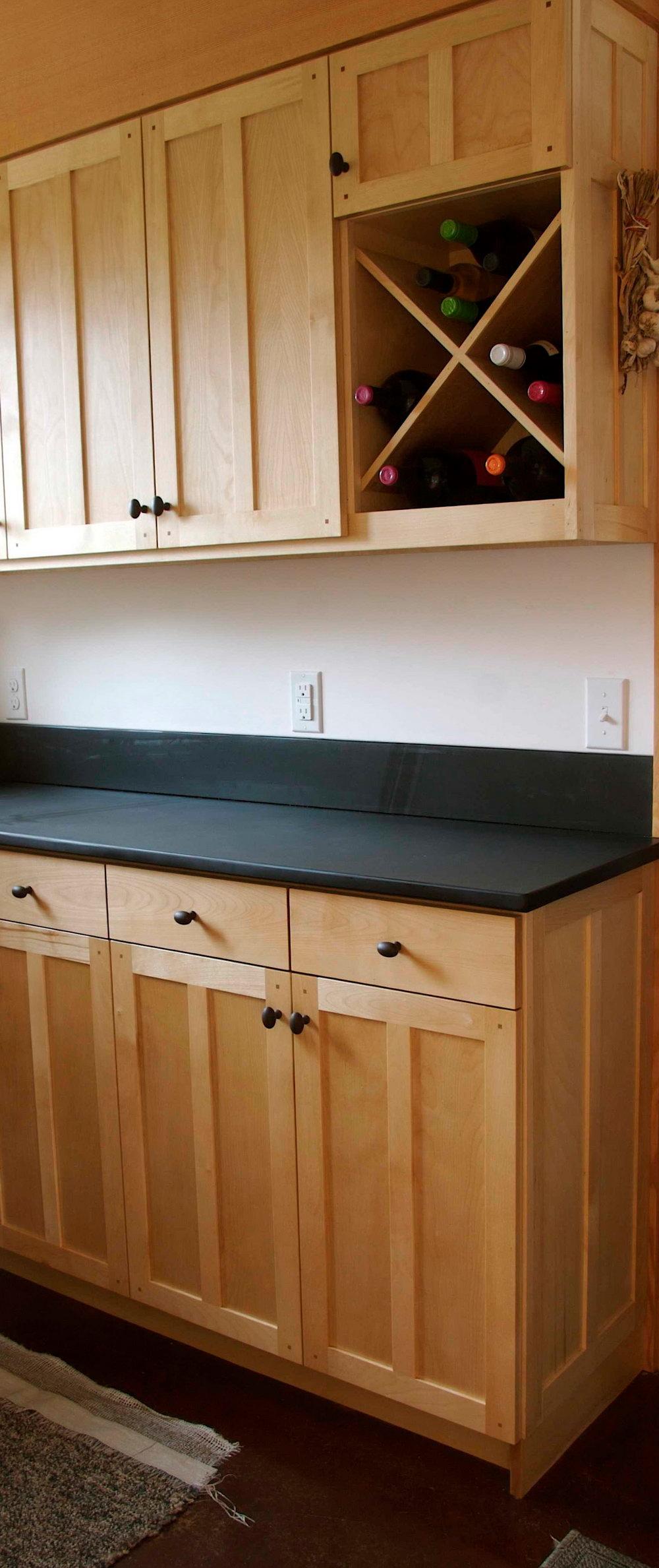 Light Birch Kitchen Cabinets