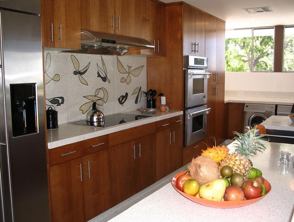 Mid Century Modern Cabinets Kitchen