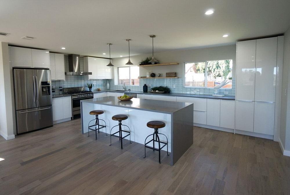 Modern Flat Kitchen Cabinets