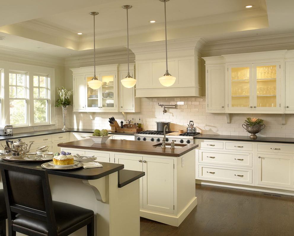 Modern White Cabinet Kitchens
