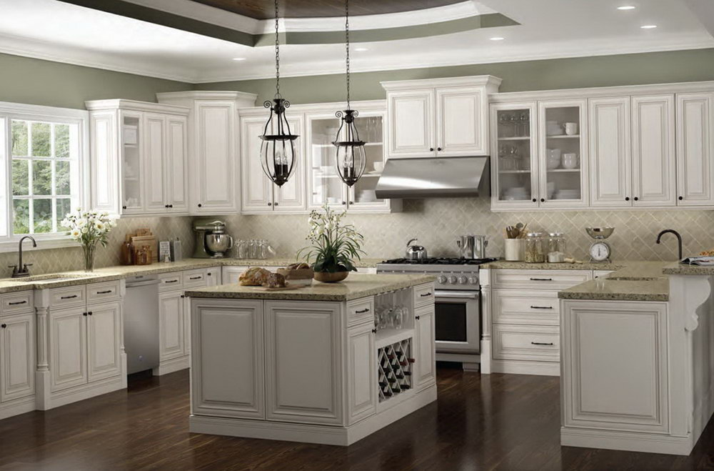 Off White Cabinet Kitchens