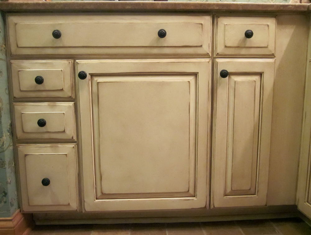 Old Kitchen Cabinets Painted
