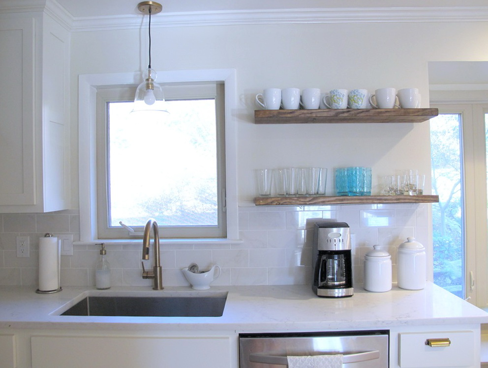 Open Kitchen Cabinets Diy