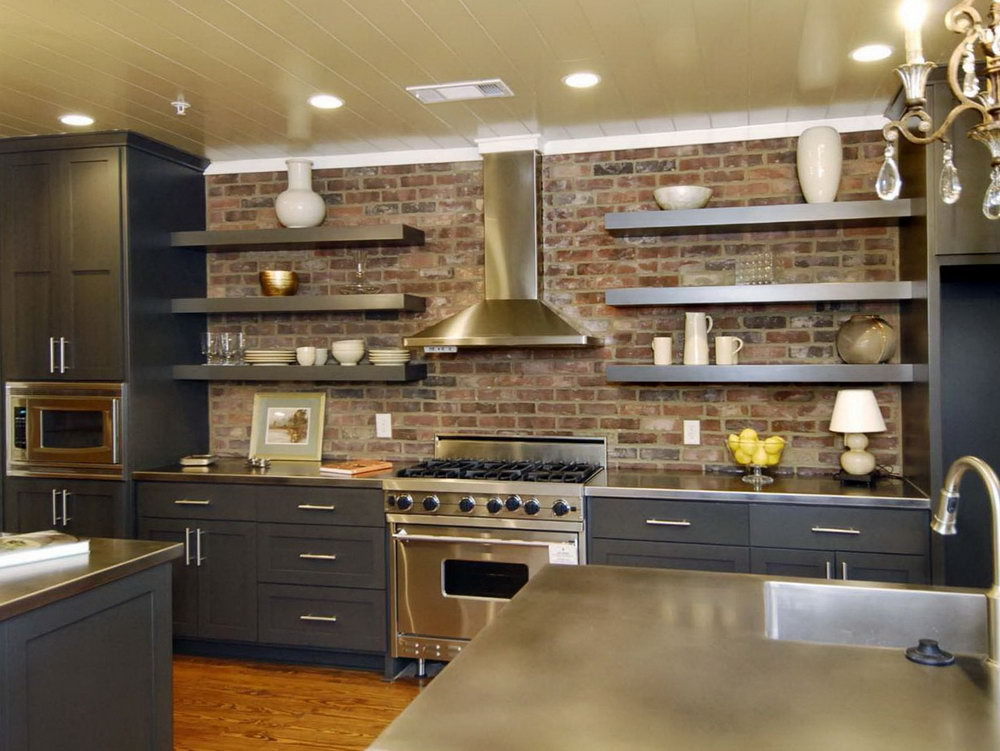 Open Kitchen Cabinets Ideas