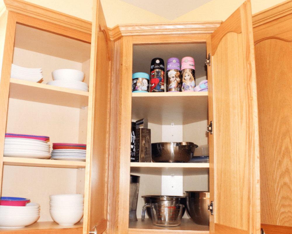 Organize Inside Kitchen Cabinets