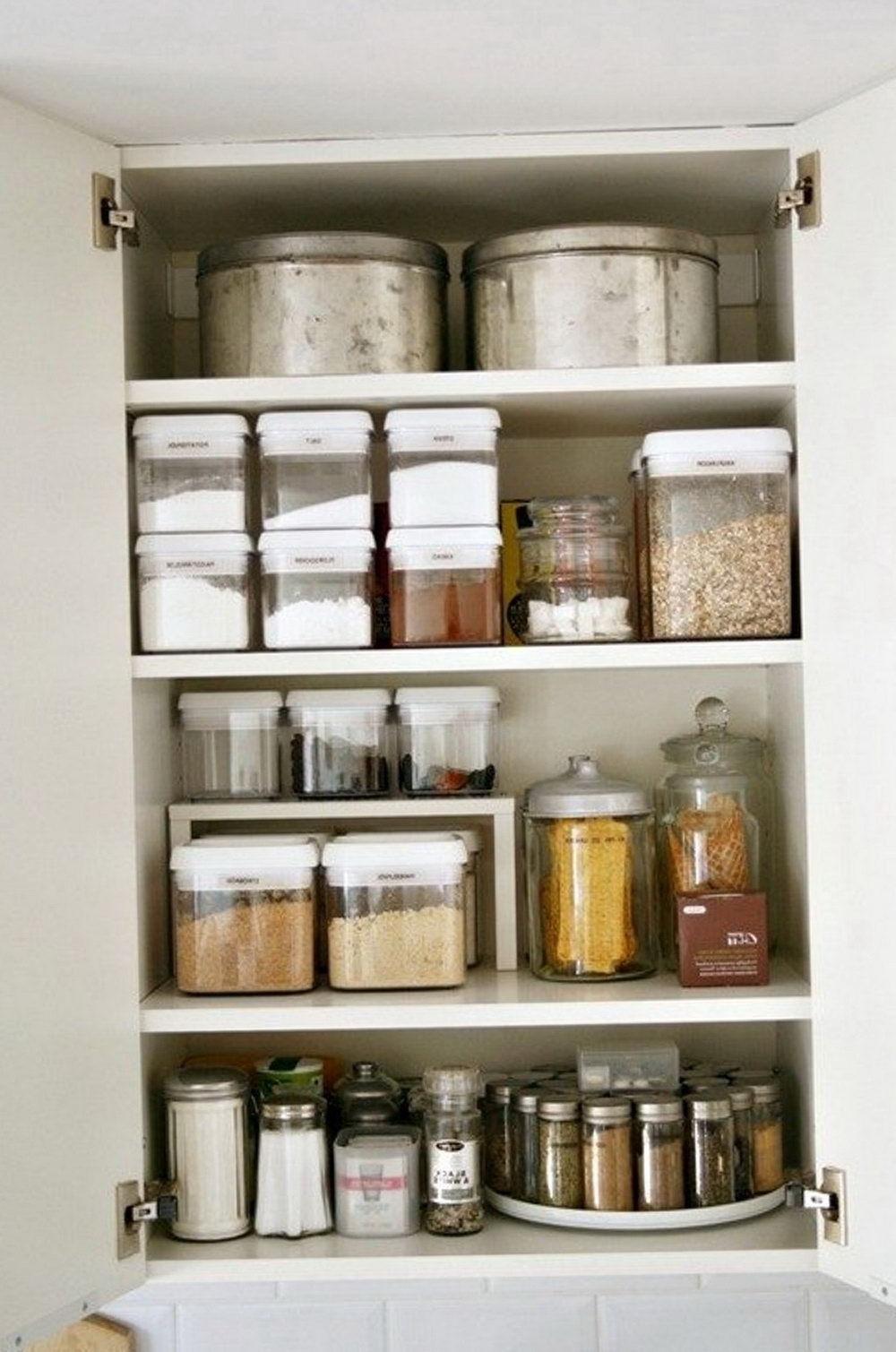 Organizing Kitchen Cabinets Without A Pantry