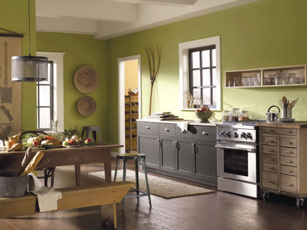 Paint Colors For Kitchen Cabinets 2017