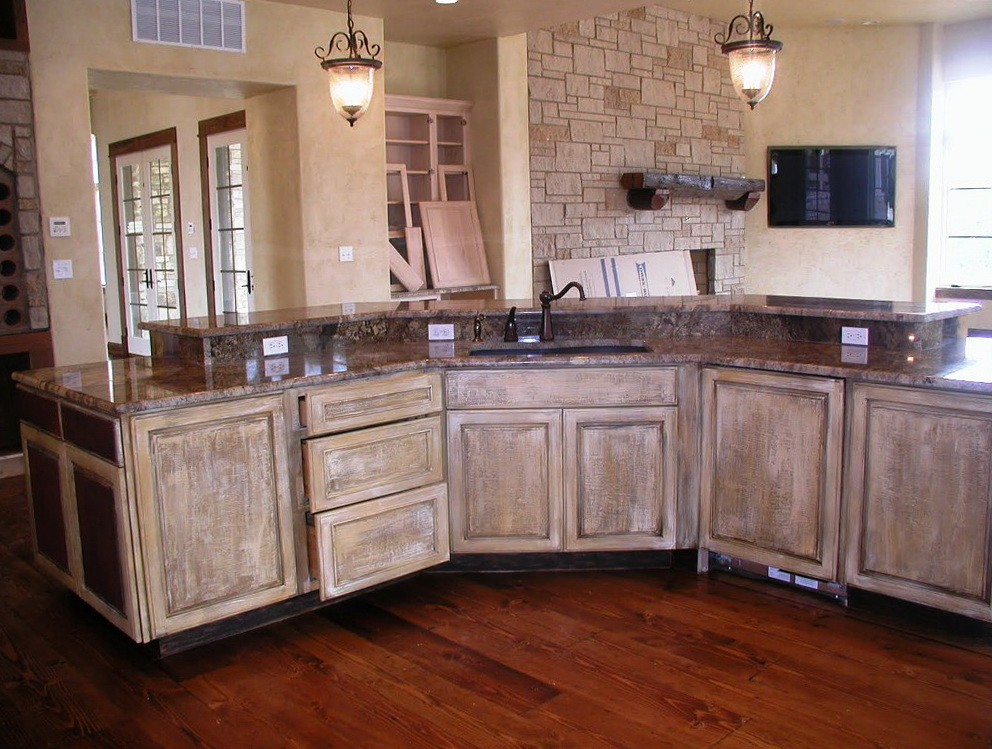 Painting Old Oak Kitchen Cabinets