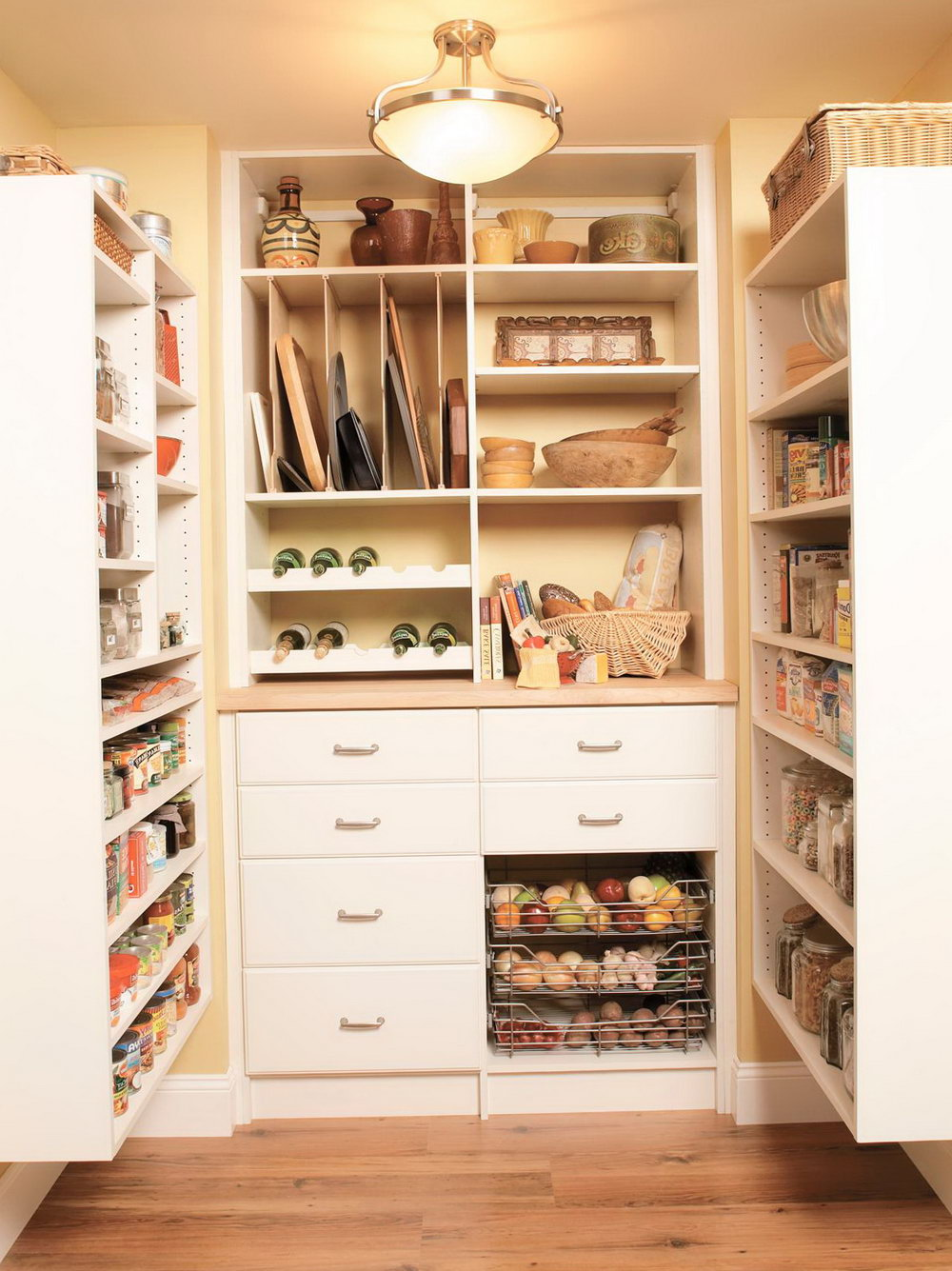 Pantry Style Kitchen Cabinets