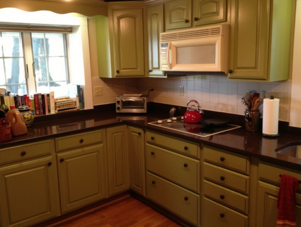 Pictures Of Kitchen Cabinets That Have Been Painted