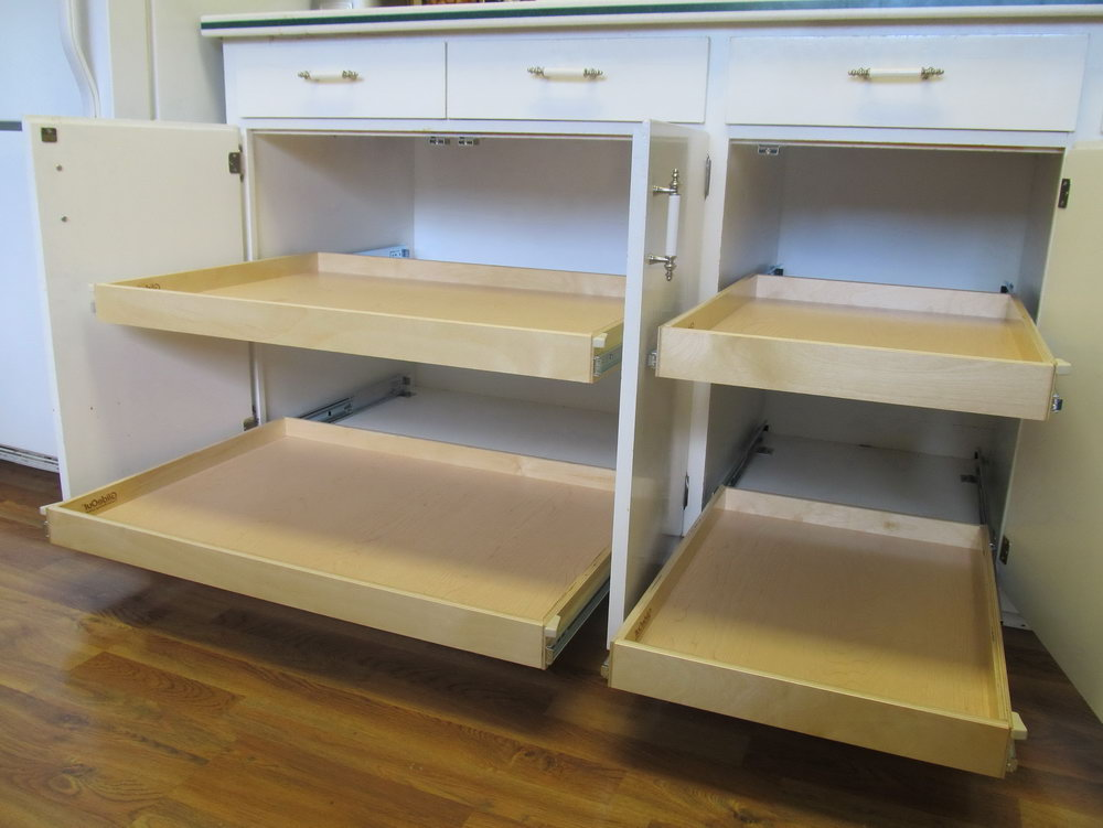 Pull Out Shelves For Kitchen Cabinets Canada