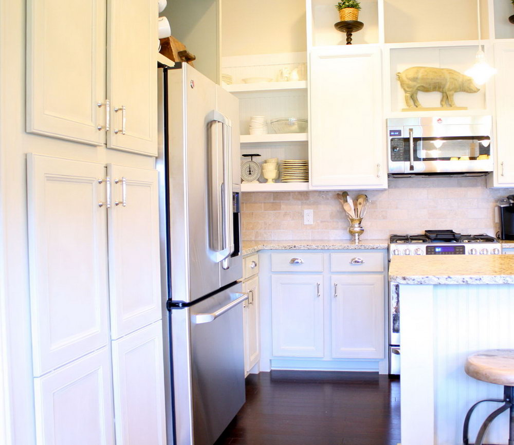 Redoing Kitchen Cabinets With Chalk Paint