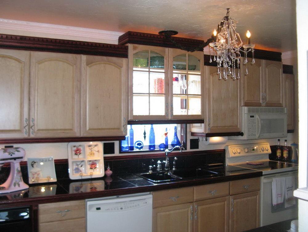 Redoing Oak Kitchen Cabinets