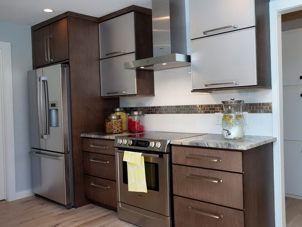 Refinishing Metal Kitchen Cabinets