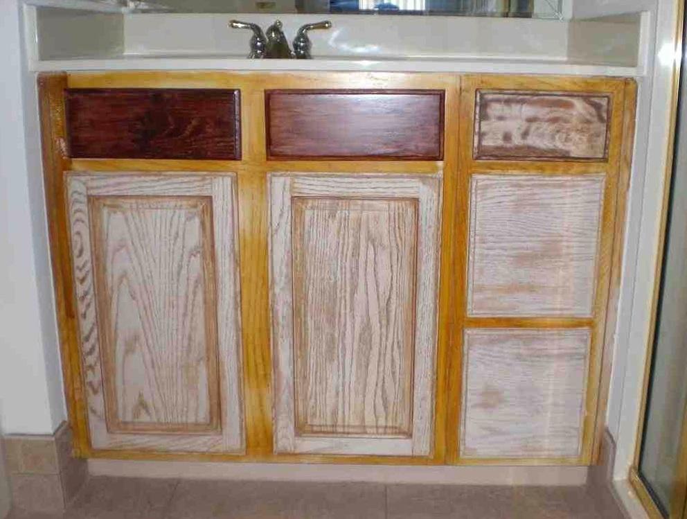 Refinishing Wood Kitchen Cabinets
