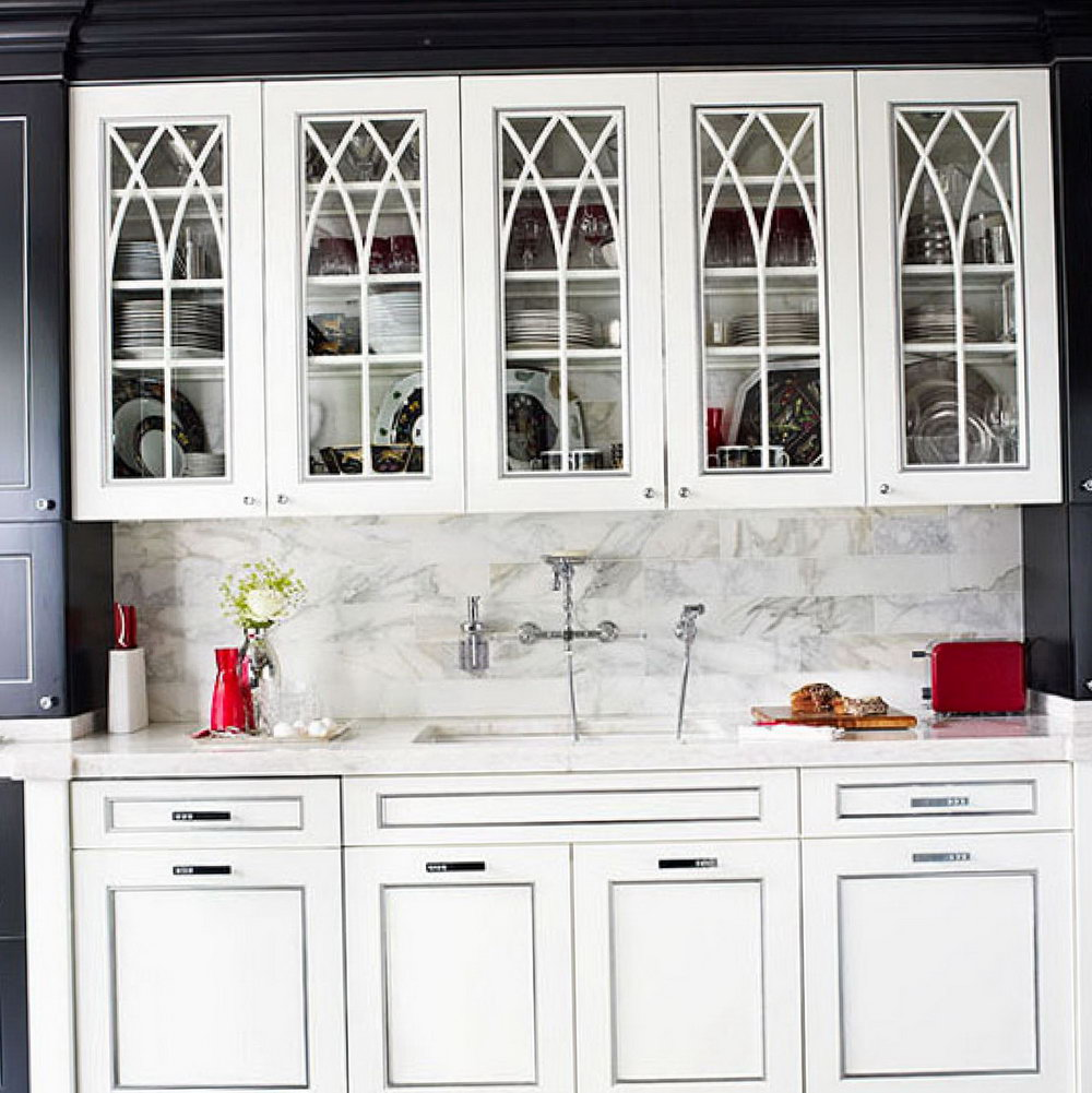 Replace Kitchen Cabinet Doors With Glass