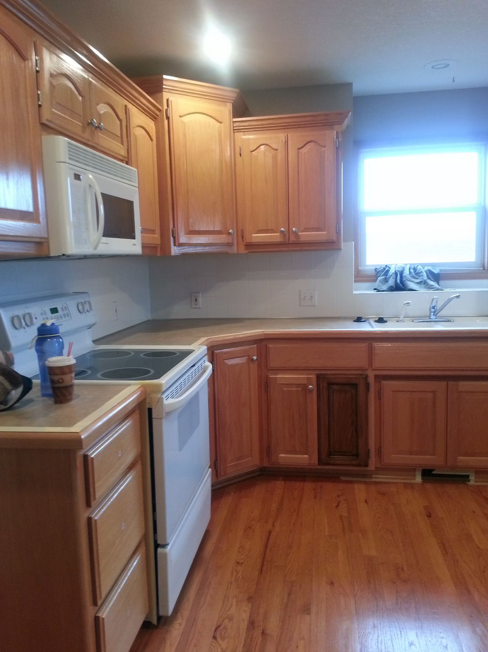 Restaining Kitchen Cabinets Without Sanding