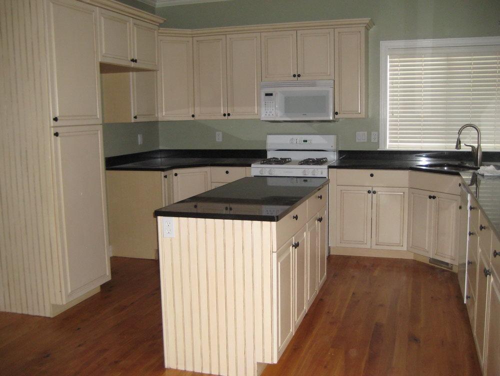 Shaker Beadboard Kitchen Cabinets