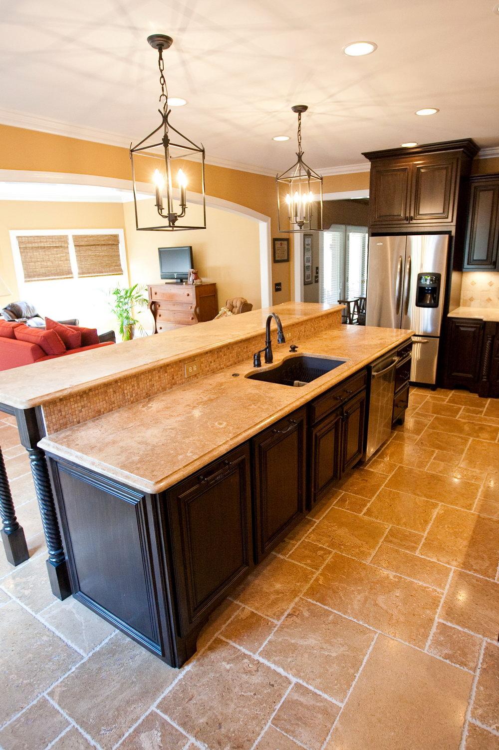 Standard Kitchen Cabinet Height From Floor