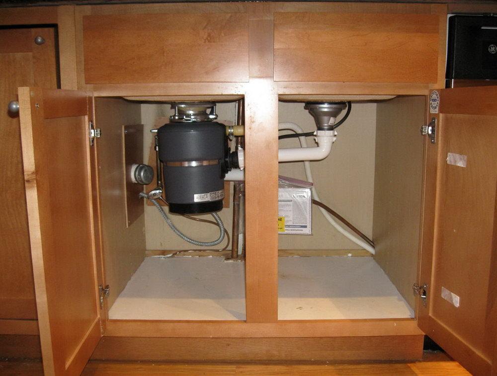 Under Sink Kitchen Cabinets