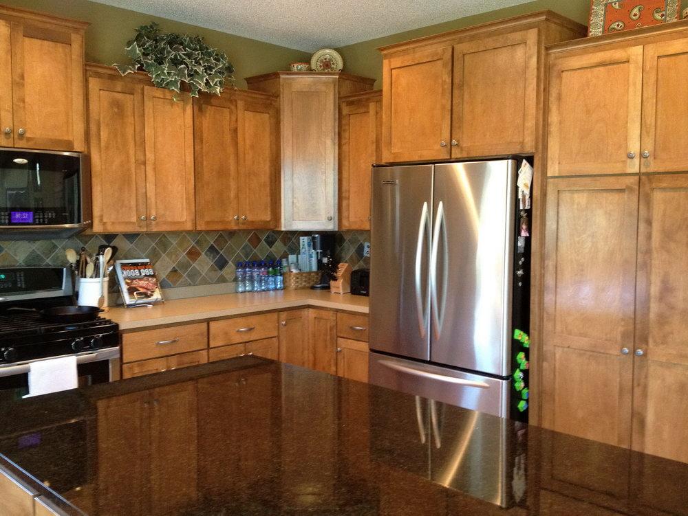 Upper Corner Cabinets Kitchen