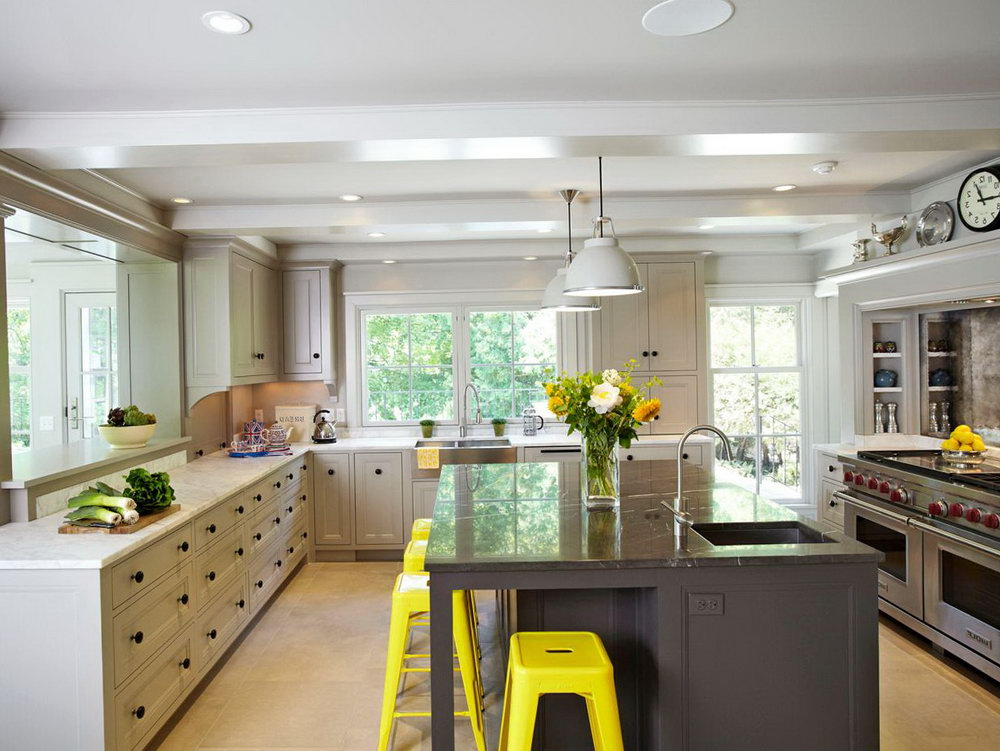 Upper Kitchen Cabinets To Ceiling