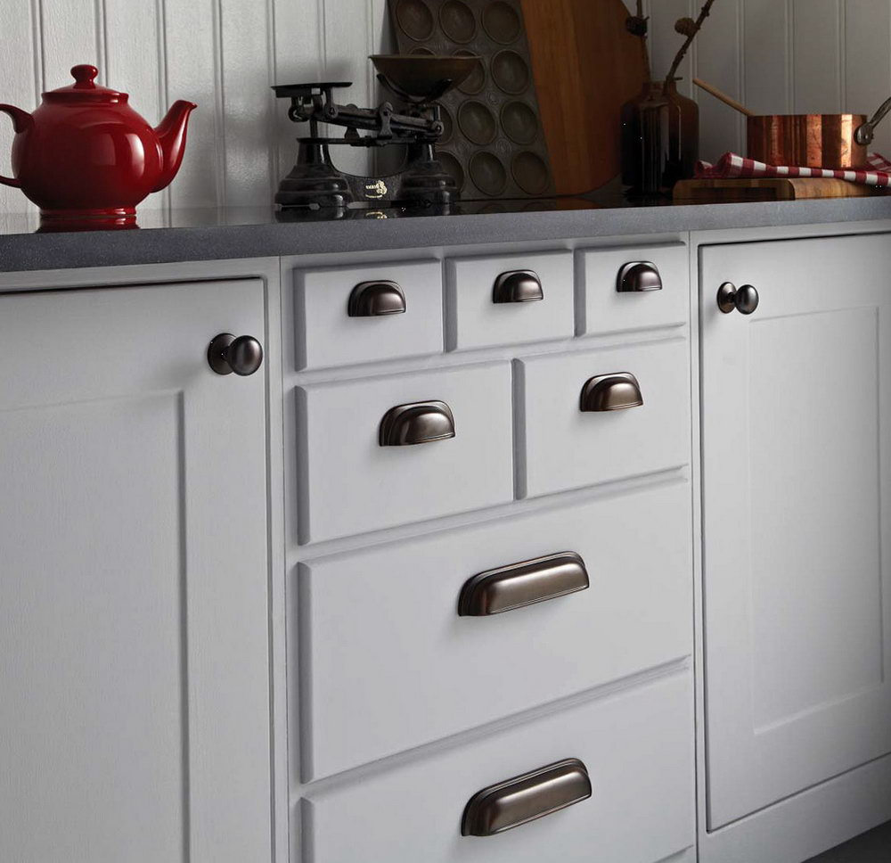 White Kitchen Cabinet Door Handles