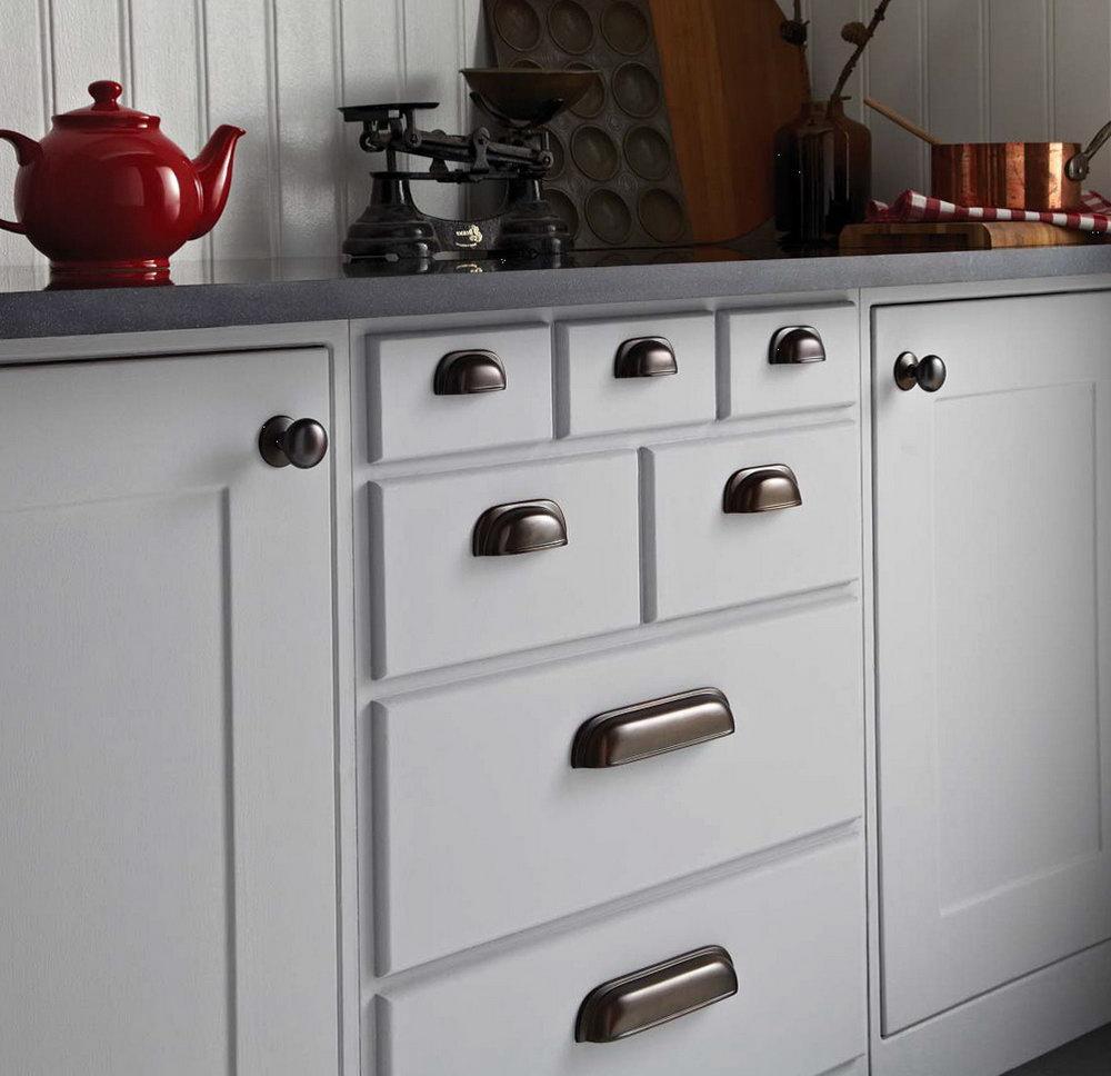 White Kitchen Cabinet Door Handles