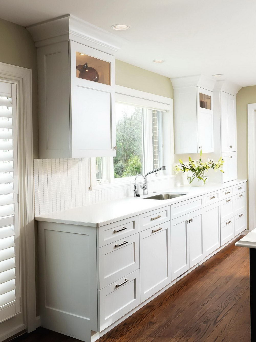 White Kitchen Cabinet Doors Lowes