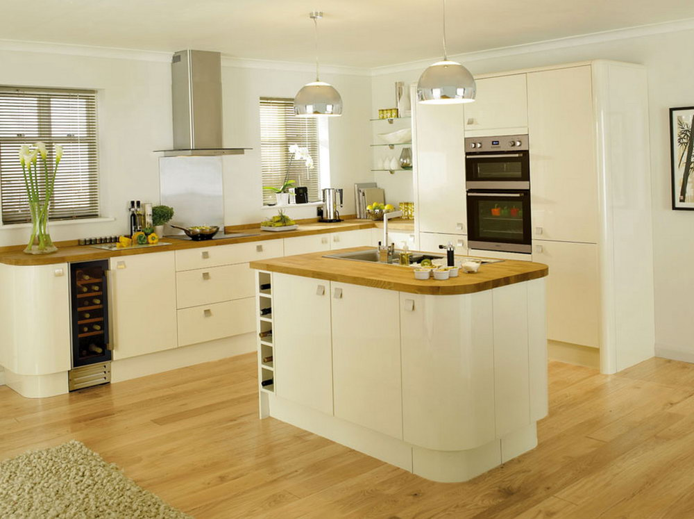 White Kitchen Cabinet Wall Color Ideas