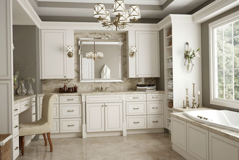 White Shaker Cabinet Kitchens