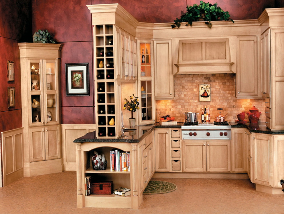 Wine Rack Kitchen Cabinet Insert