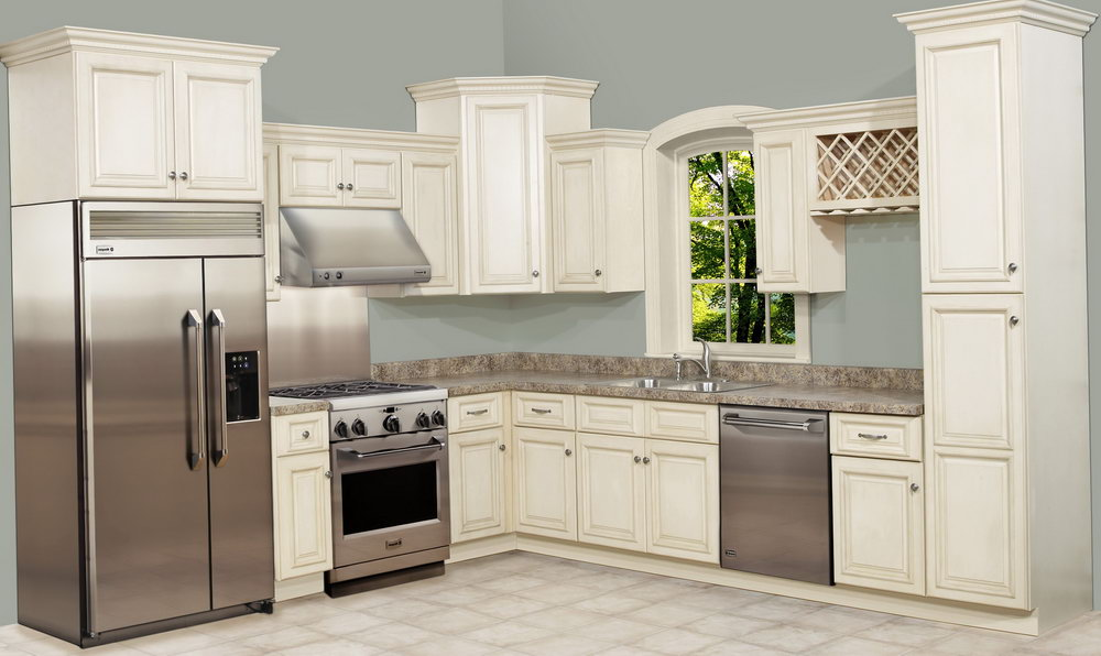 10×10 Kitchen Cabinets With Island