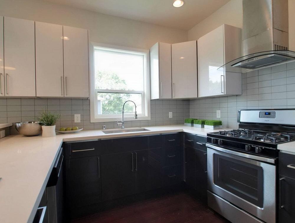 Acrylic Kitchen Cabinets White