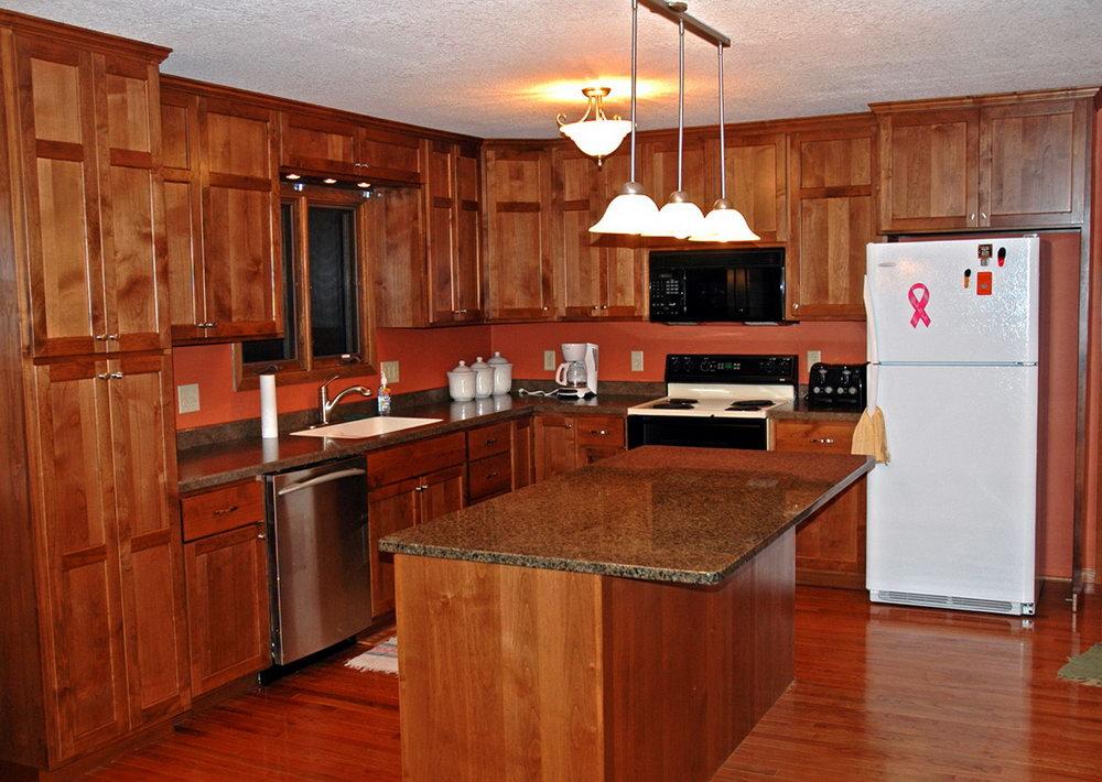Alder Kitchen Cabinets Pictures