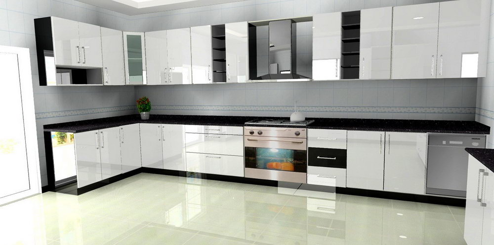Aluminium Kitchen Cabinet Pictures