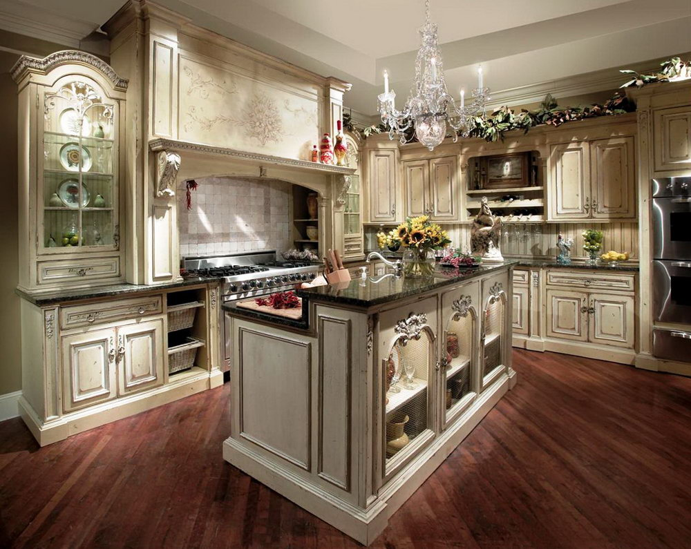 Antiquing Oak Kitchen Cabinets