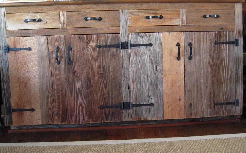 Barnwood Kitchen Cabinets For Sale