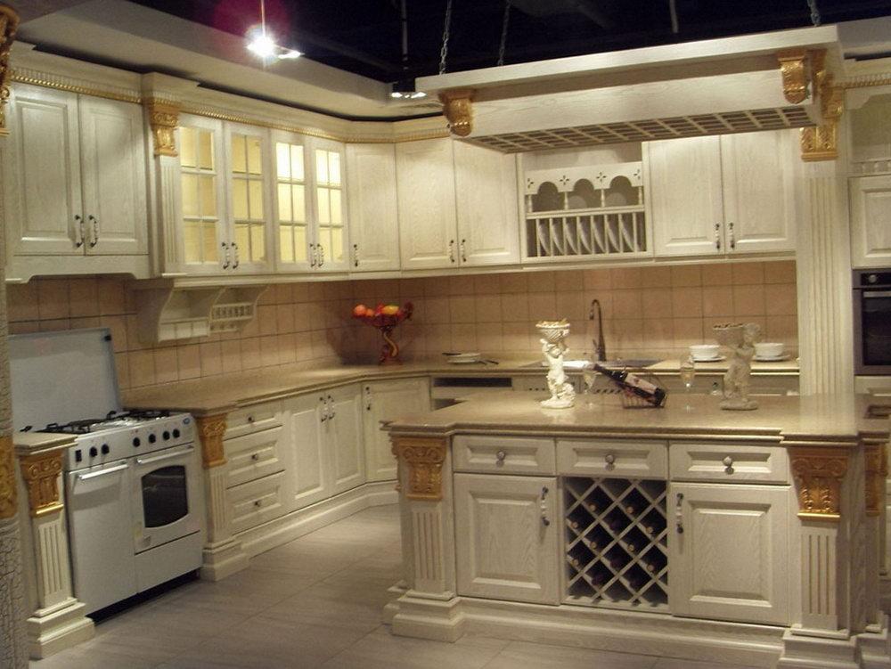 Beautiful White Kitchen Cabinets