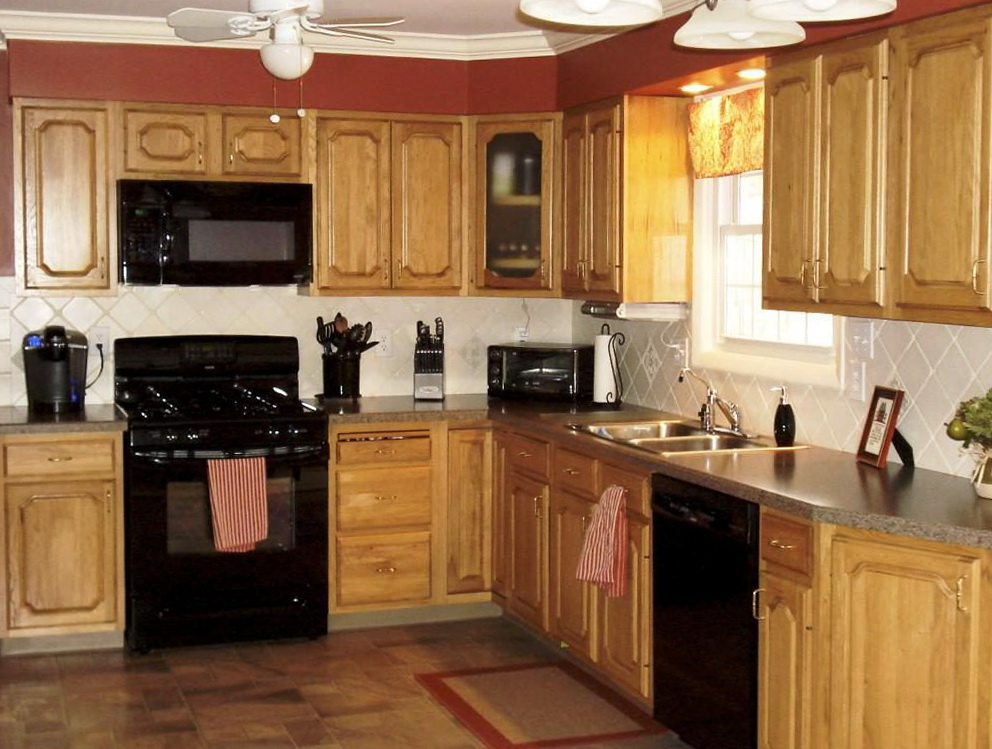 Best Color To Paint Kitchen Cabinets With Black Appliances