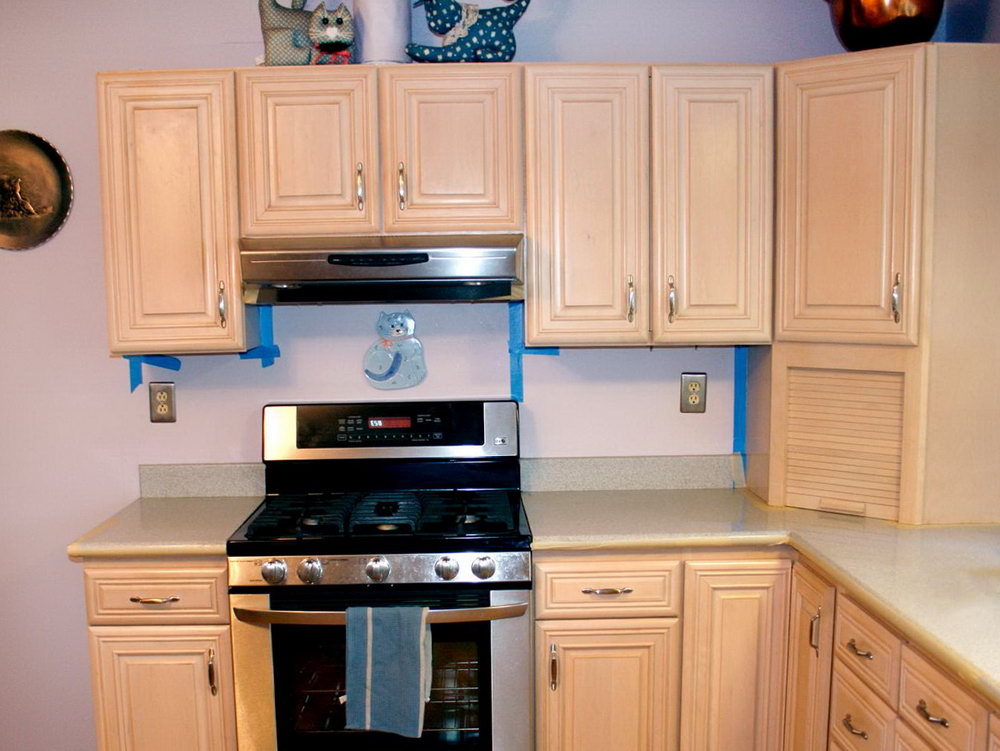 Can You Paint Kitchen Cabinets That Aren't Real Wood