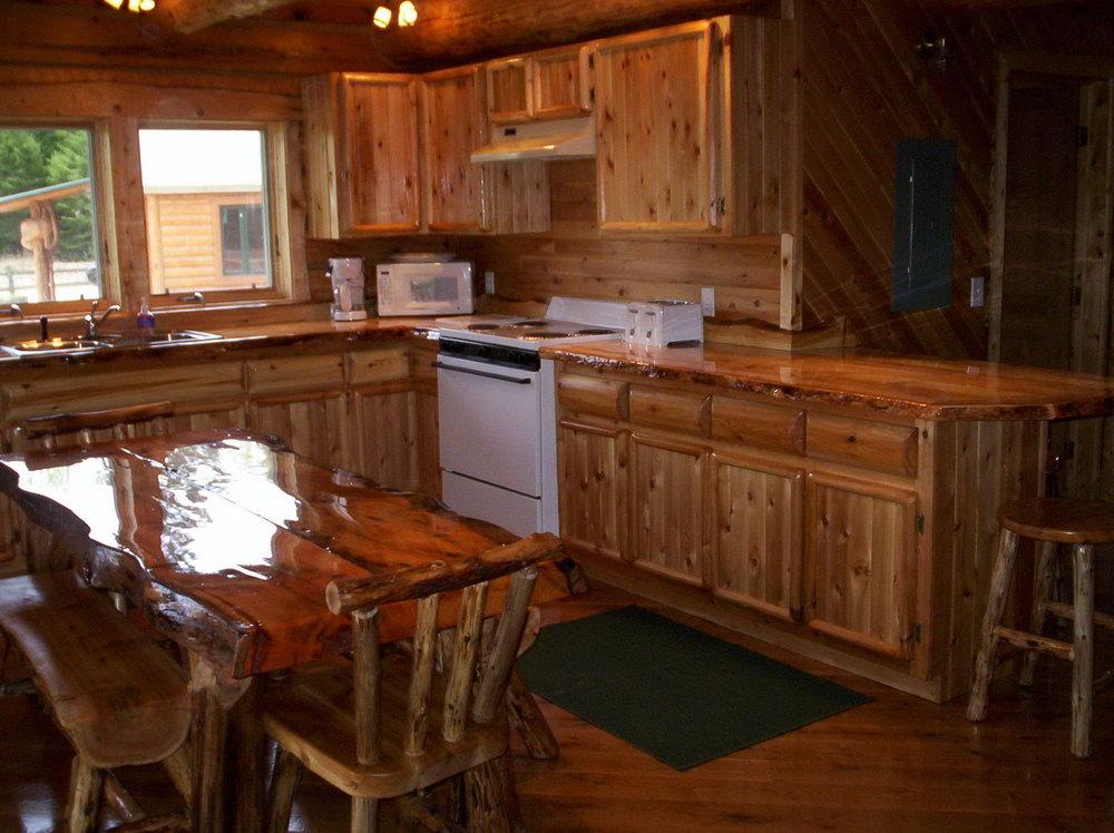 Cedar Kitchen Cabinets For Sale