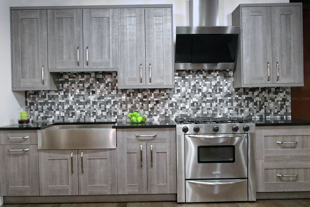 Chalk Paint Melamine Kitchen Cabinets