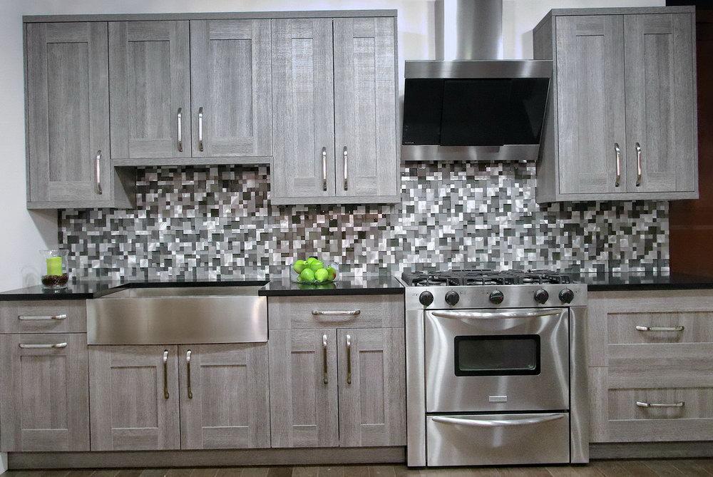 Chalk Paint Melamine Kitchen Cabinets