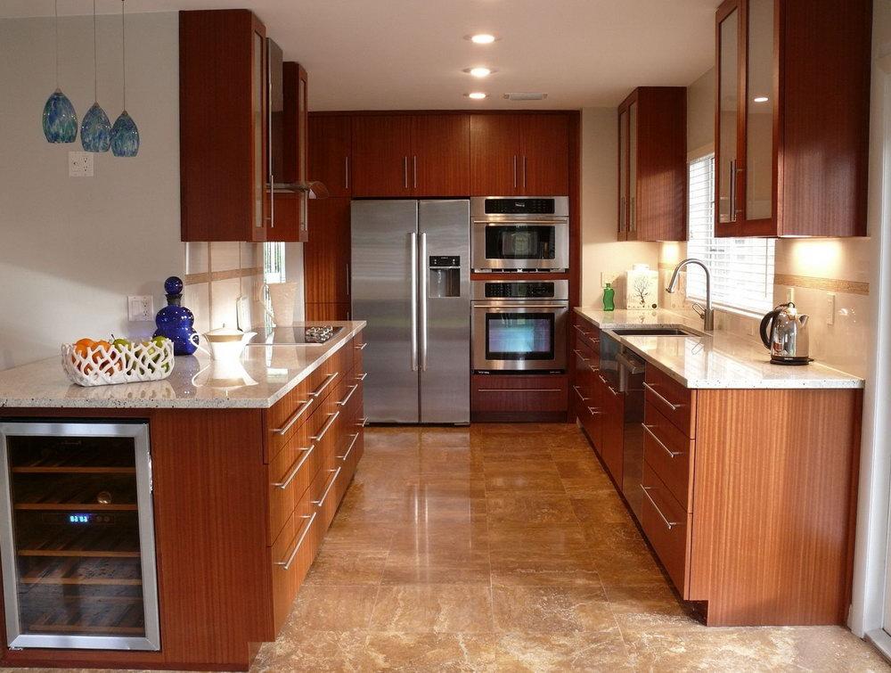 Cherry Mahogany Kitchen Cabinets